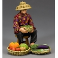 HK282 The Hakka Vegetable Seller